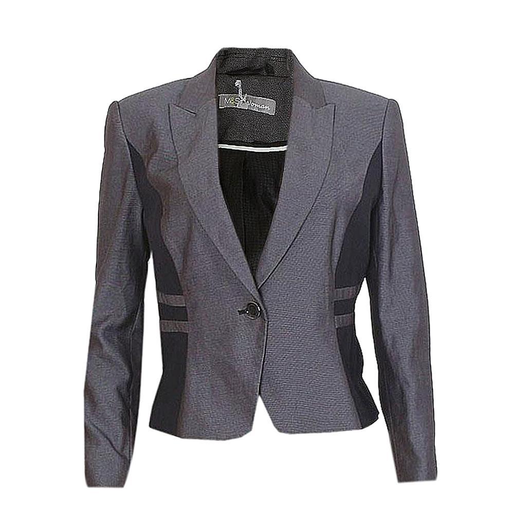 WoGray Black Mix Ladies Jacket UK12