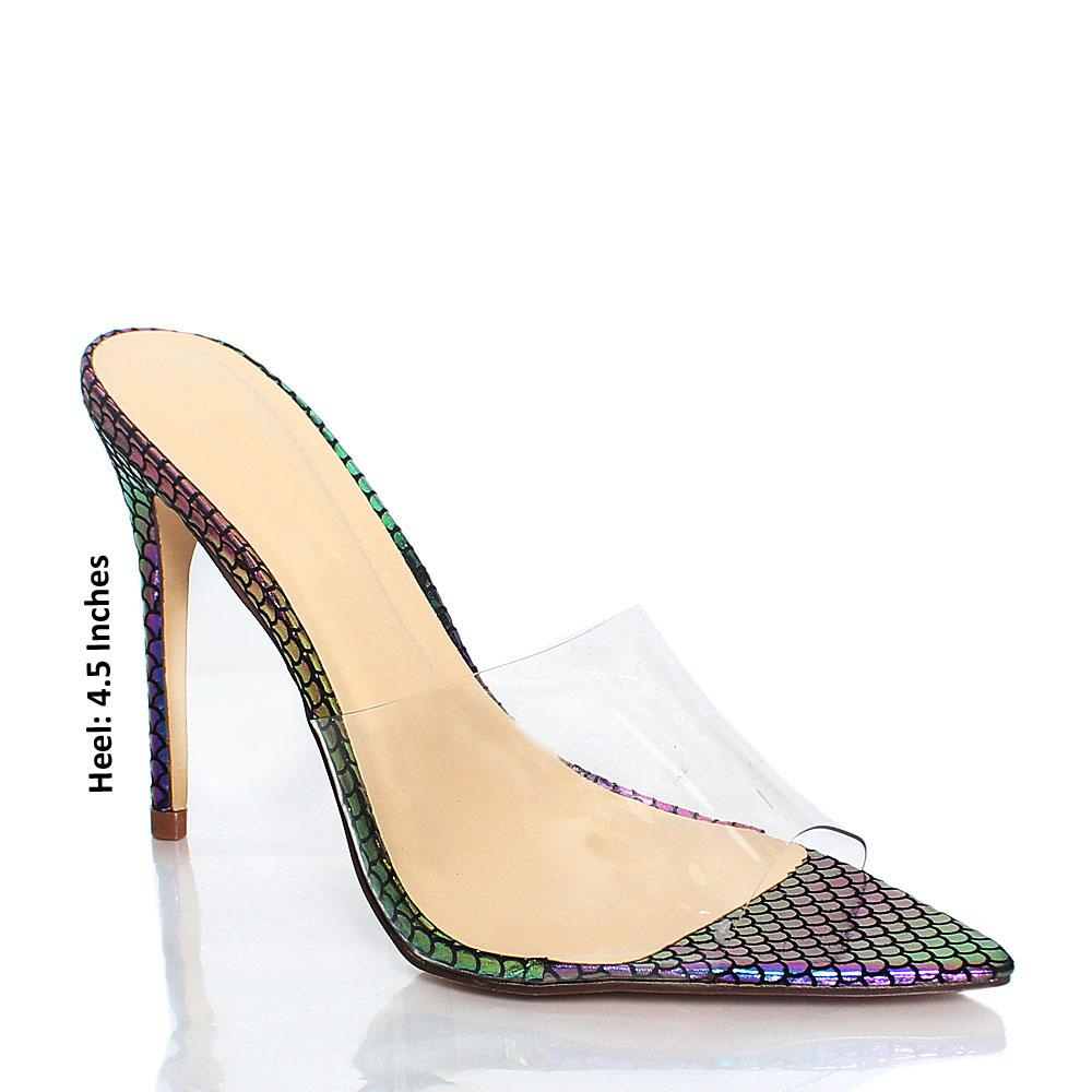 Multicolour-Snake-Skin-AM-Chi-Rubber-Top-High-Heel-Mule