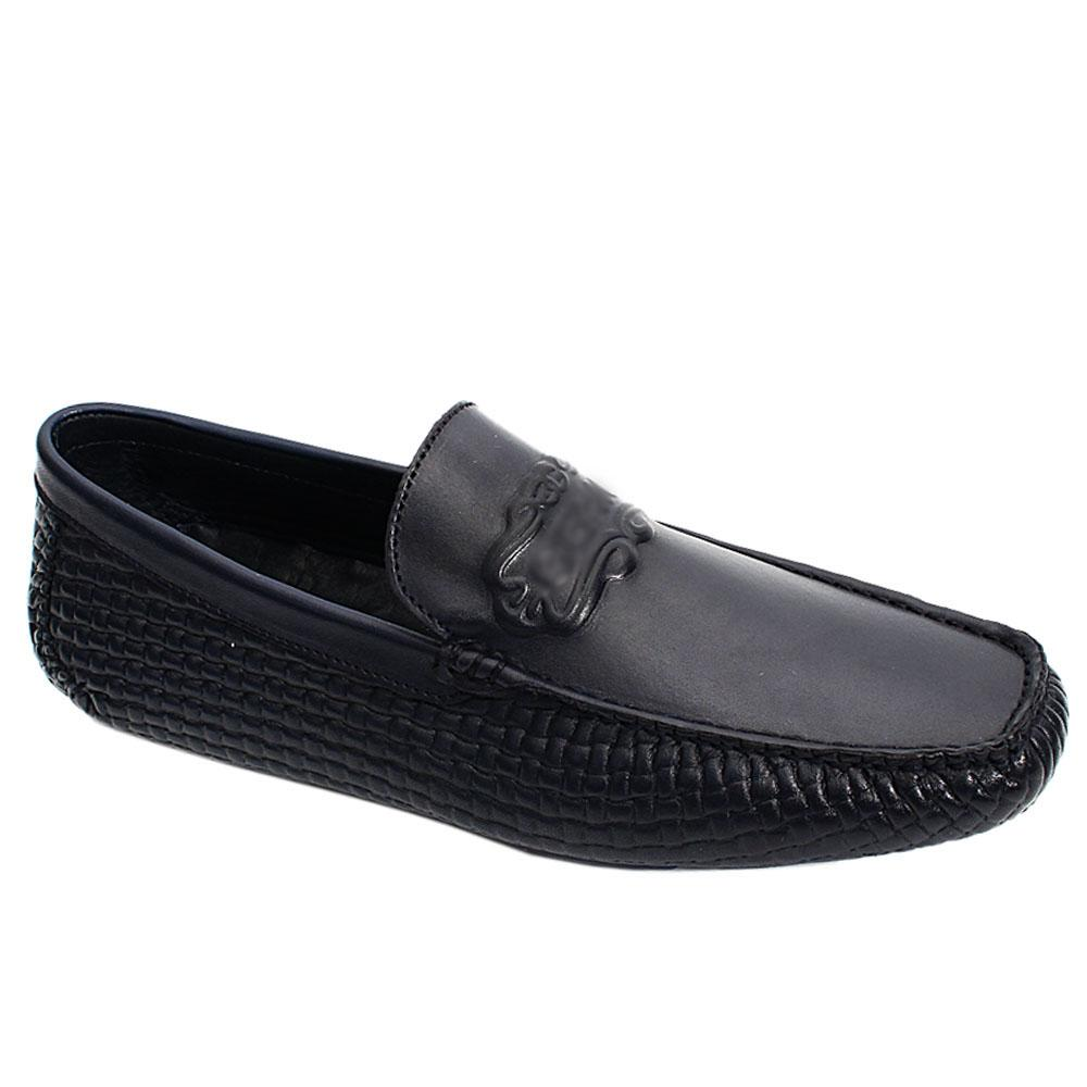 Navy-Embossed-Italian-Leather-Men-Drivers-Shoe