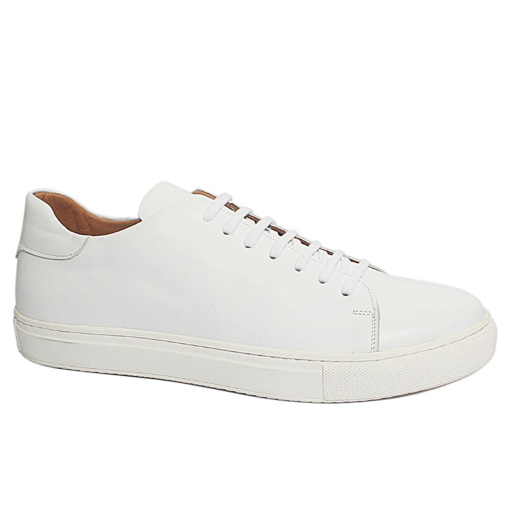 All White Classic Sneakers