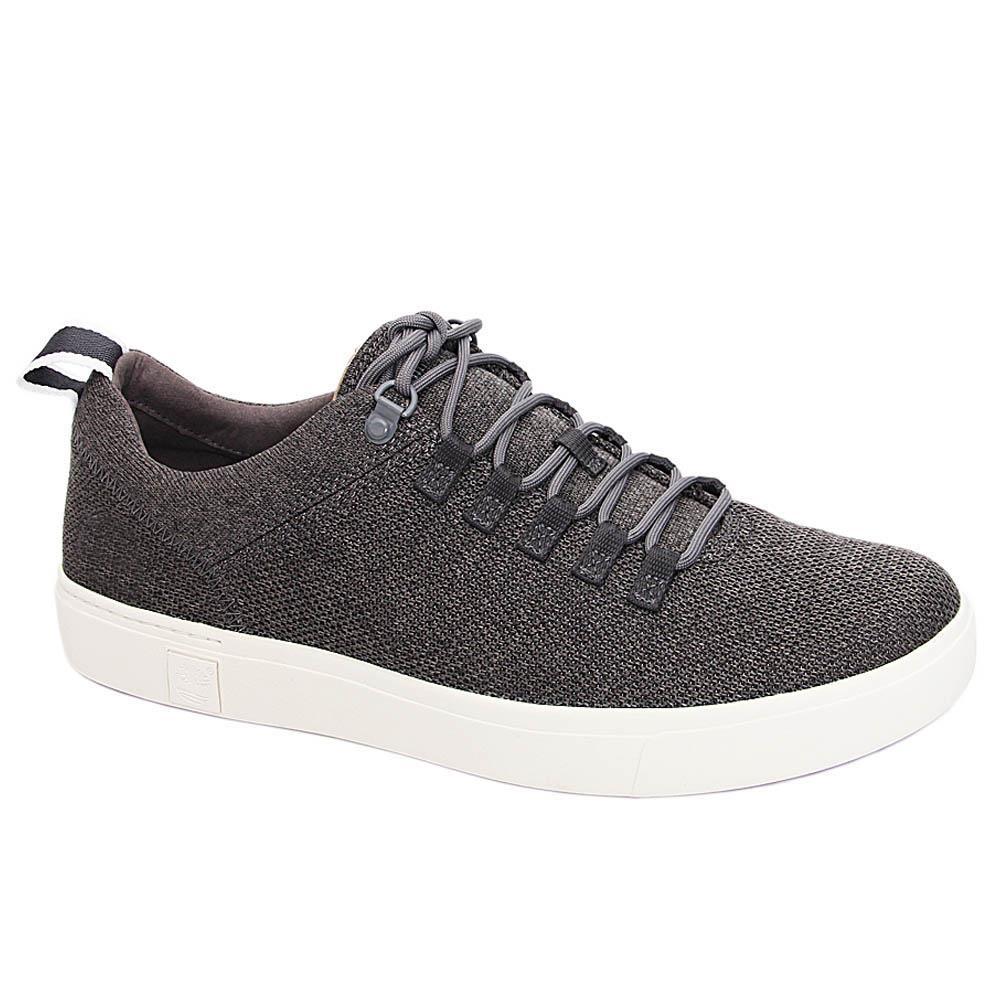 Dark-Gray-Kingston-Knit-Fabric-Sneakers