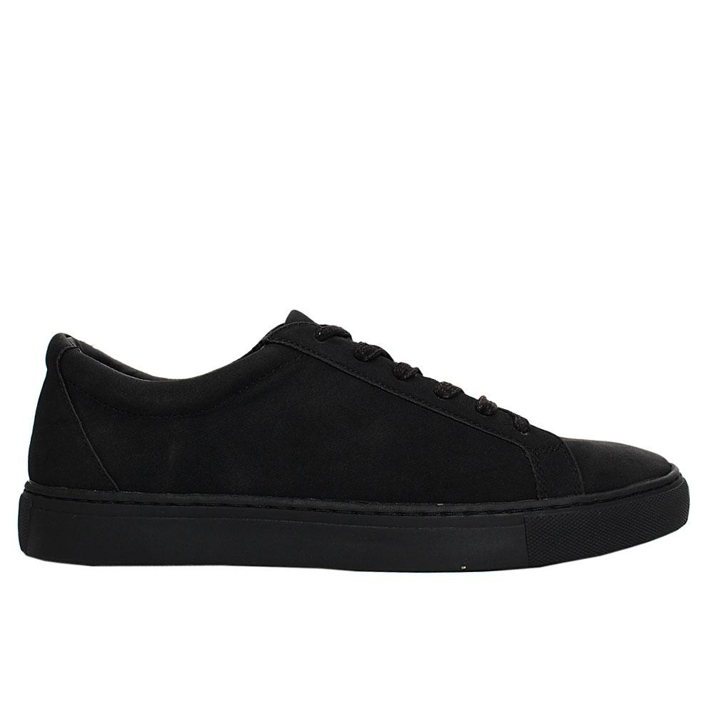 Black Whitworth Leather Sneakers