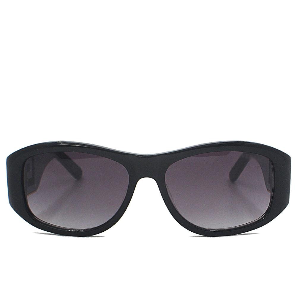 Black Straight FNarrow Fit Sunglasses