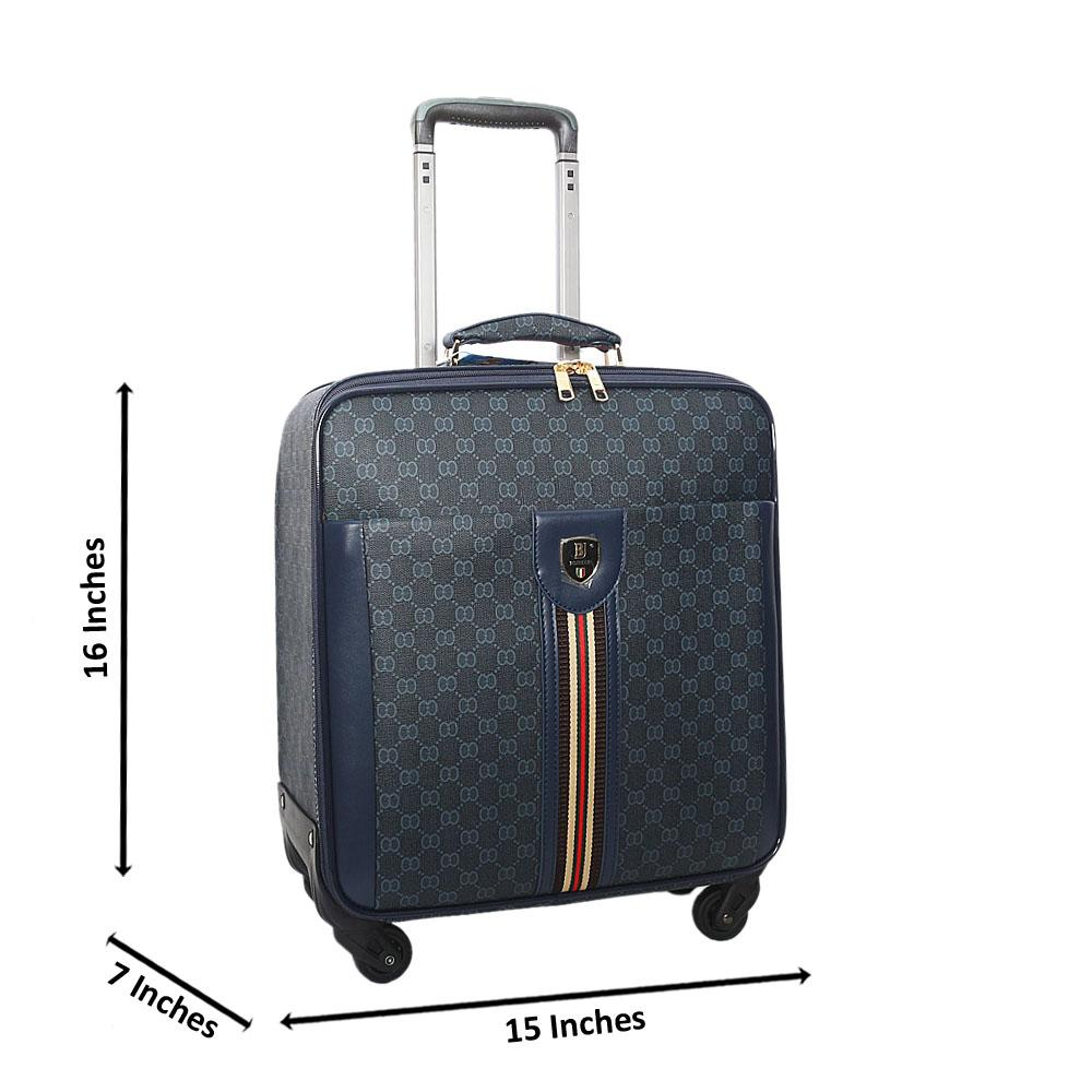 Navy-Gray-16-Inch-Leather-Pilot-Suitcase-Wt-Lock