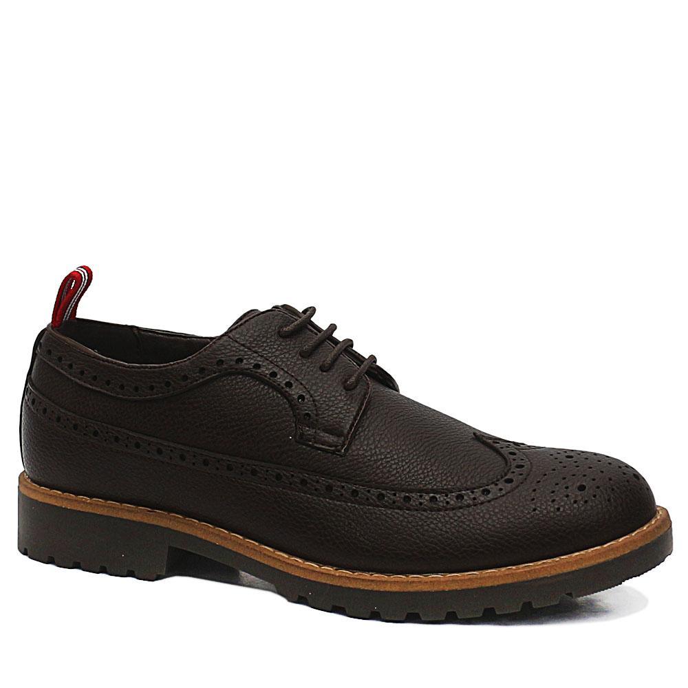 Sz 46 DDM Brown Bradford Leather Sneakers
