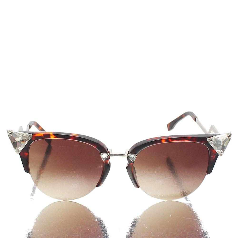 Silver Brown Ice Club-Master Sunglasses