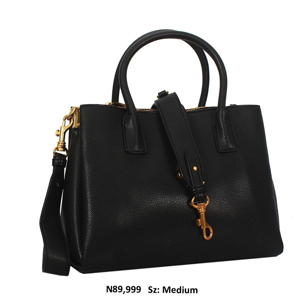 Agnes-Aly-Black-Saffiano-Leather-Tote-Handbag