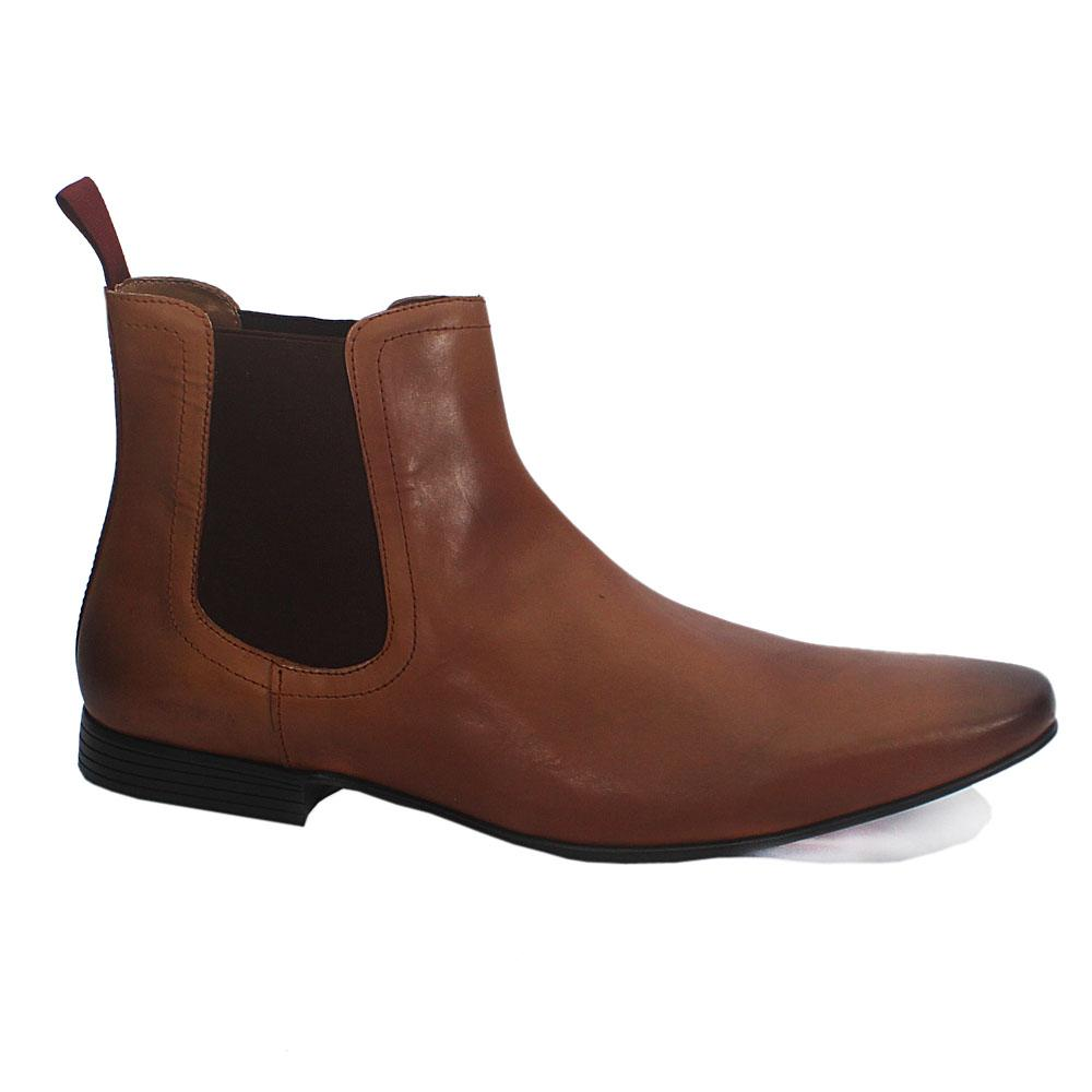 Brown Leather Men Boot