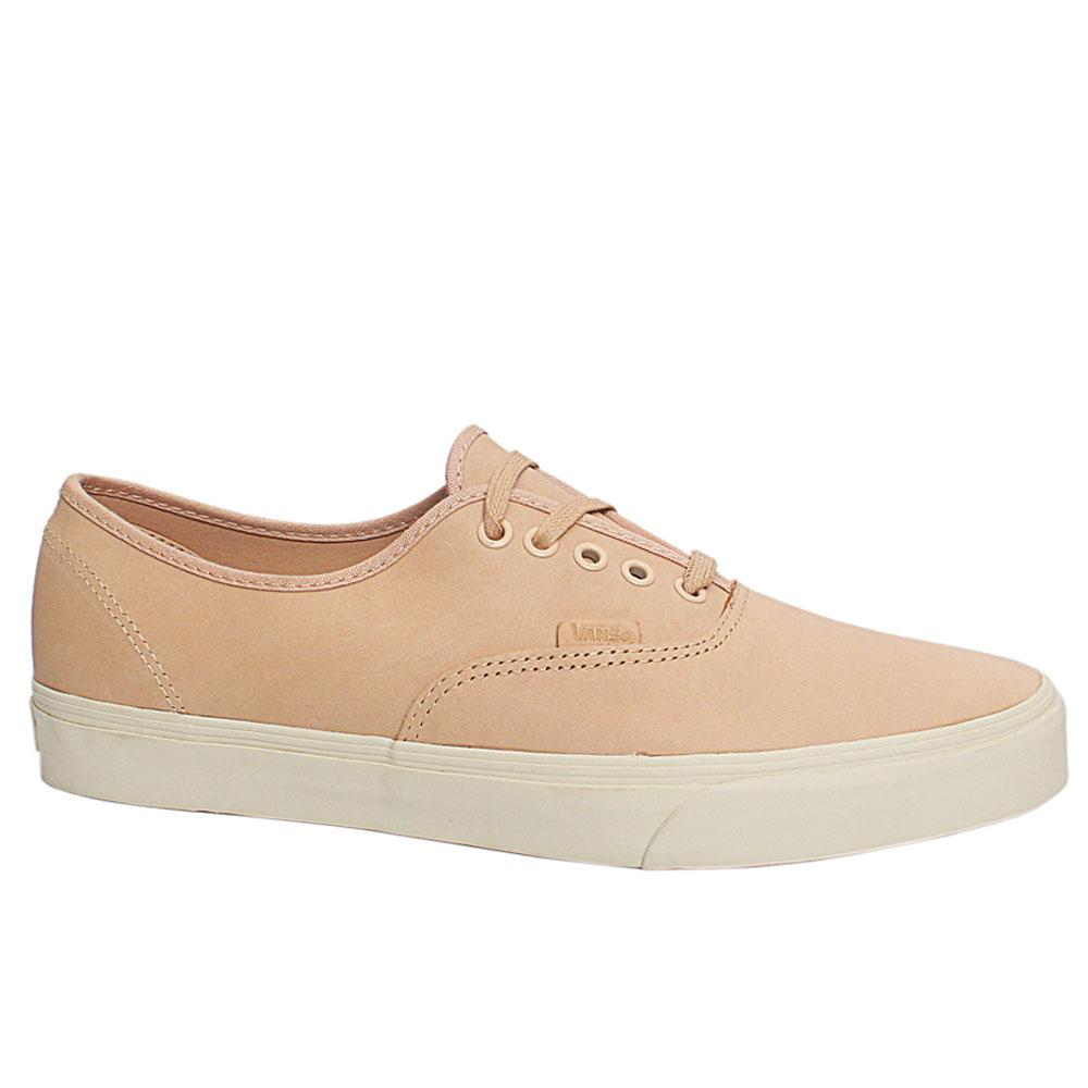 Light Peach Authentic DX Veggie Leather Sneakers