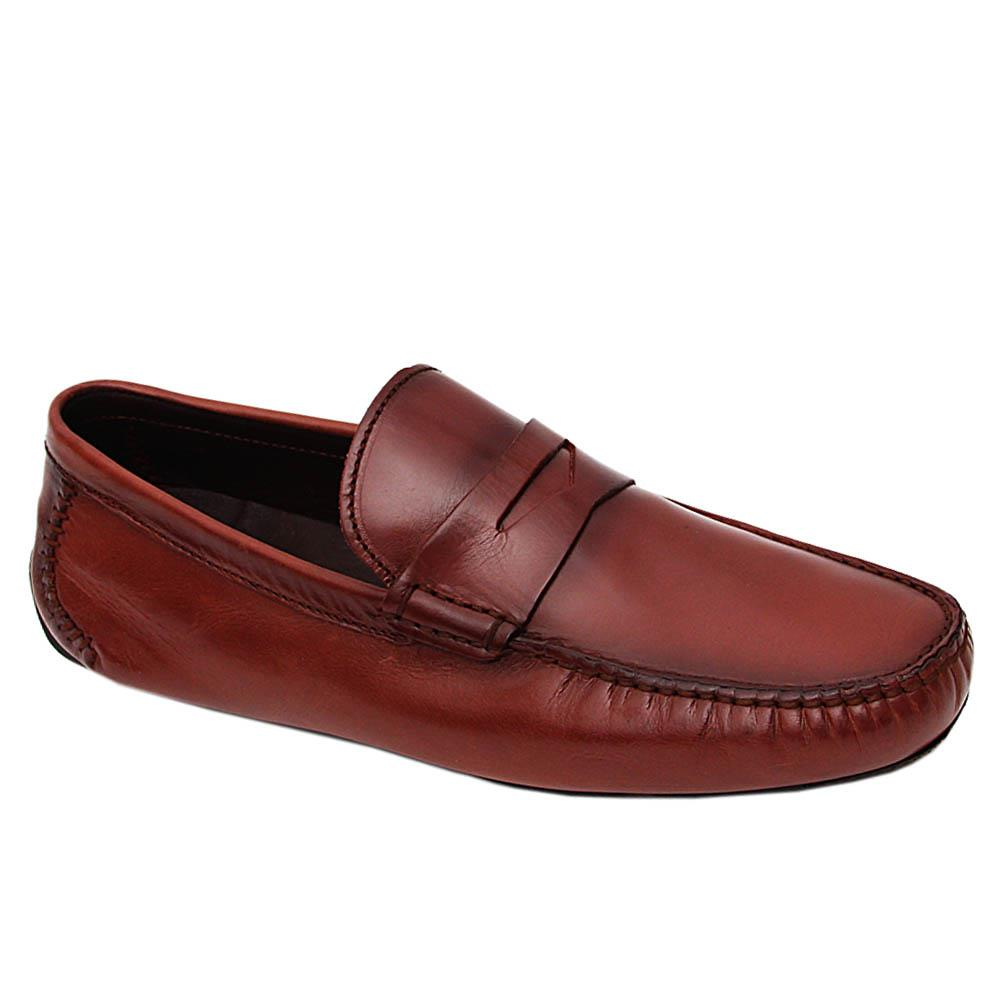 Dark Brown Bruno Italian Drivers Shoe