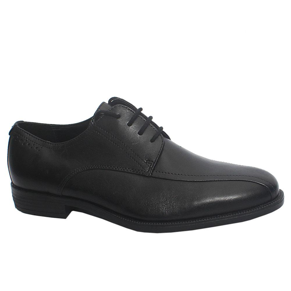 Black Tommaso Leather Men Oxford