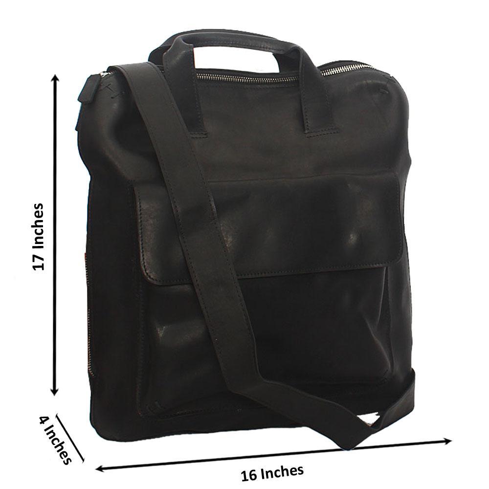 fc44686e59ed Jost Black kurzgrifftasche Leather Tote Man Bag
