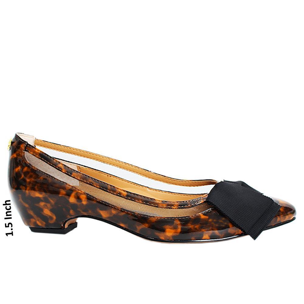 Brown-Black-campus-Patent-Leather-Low-Heel-Shoe
