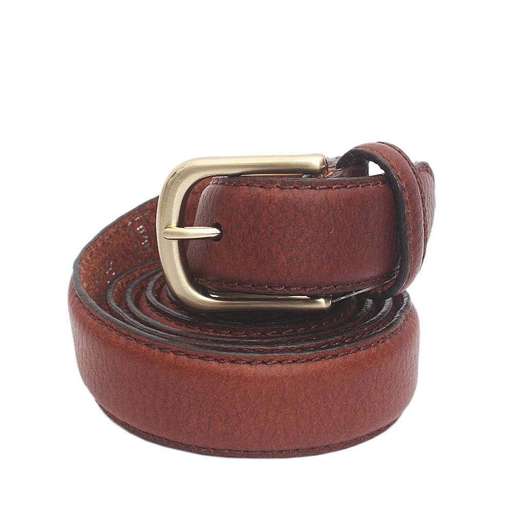 M & S Brown Genuine Leather Belt L 44 Inches