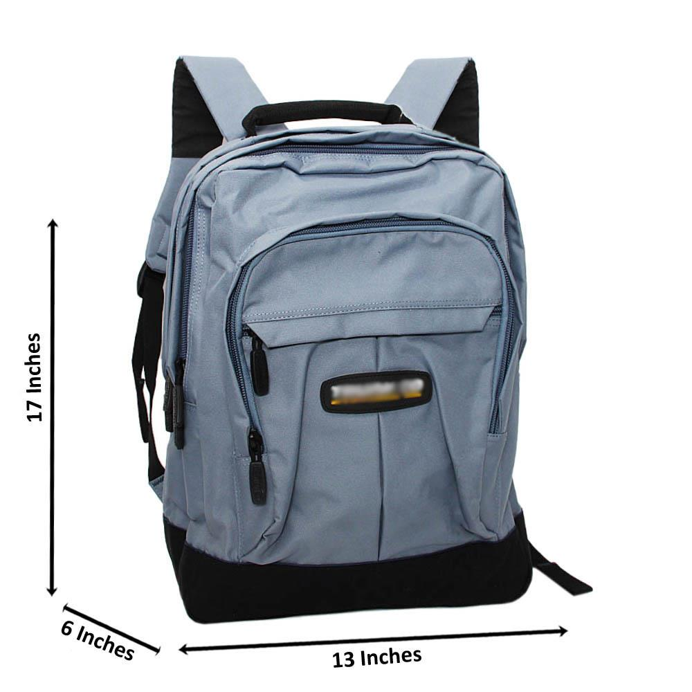 Arctic Blue Carter Fabric Backpack