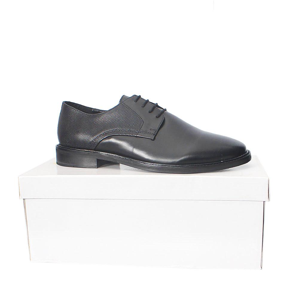 Kurt Geiger Tamworth Black Men Leather Derby Shoes  Sz 44