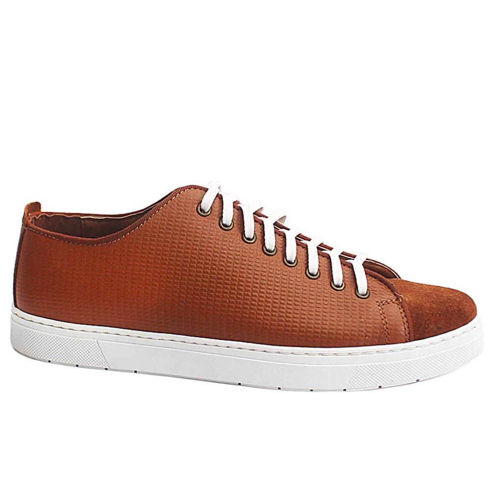 Brown Edgard Suede Leather Slipon Shoe