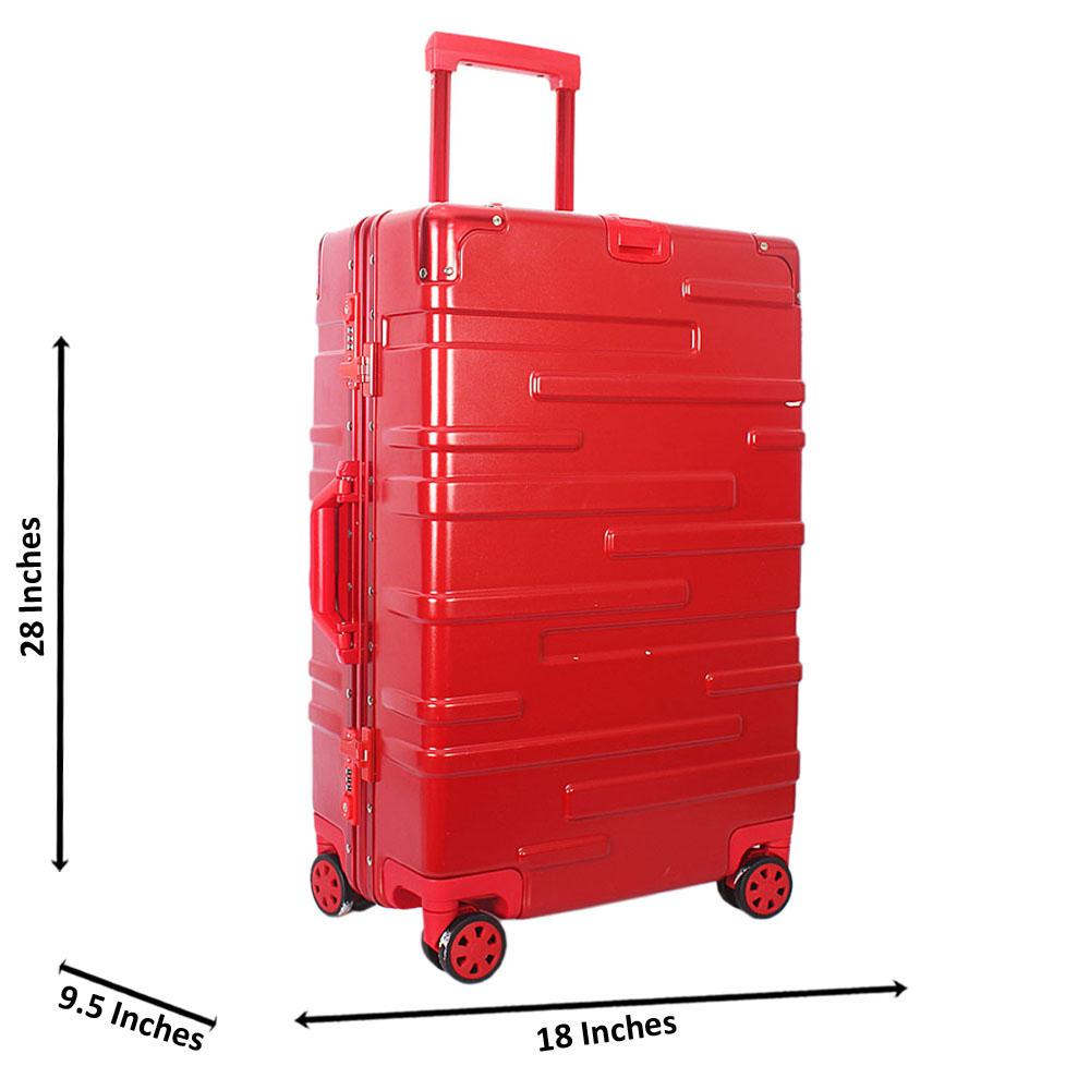Red 28 inch Hard Shell Large Luggage Wt TSA Lock