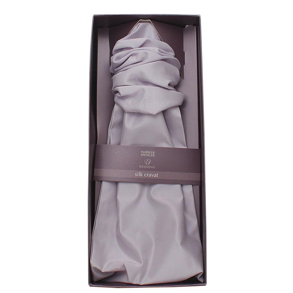 Marks & Spencers Lilac Silk Cravat