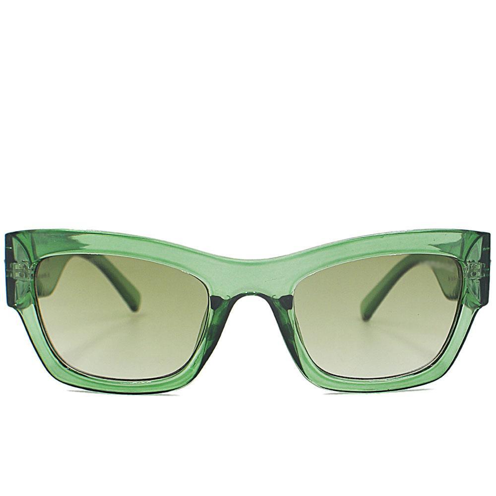 Green Wayfarer WoSunglasses