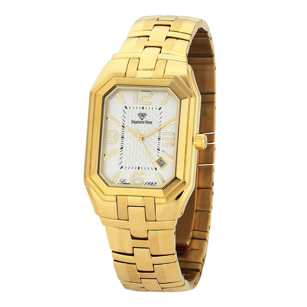 Gold Stainless Steel Classic Watch