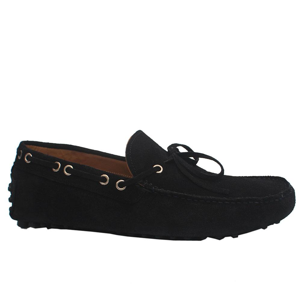 Navy Cam NA Suede Leather Drivers Shoes