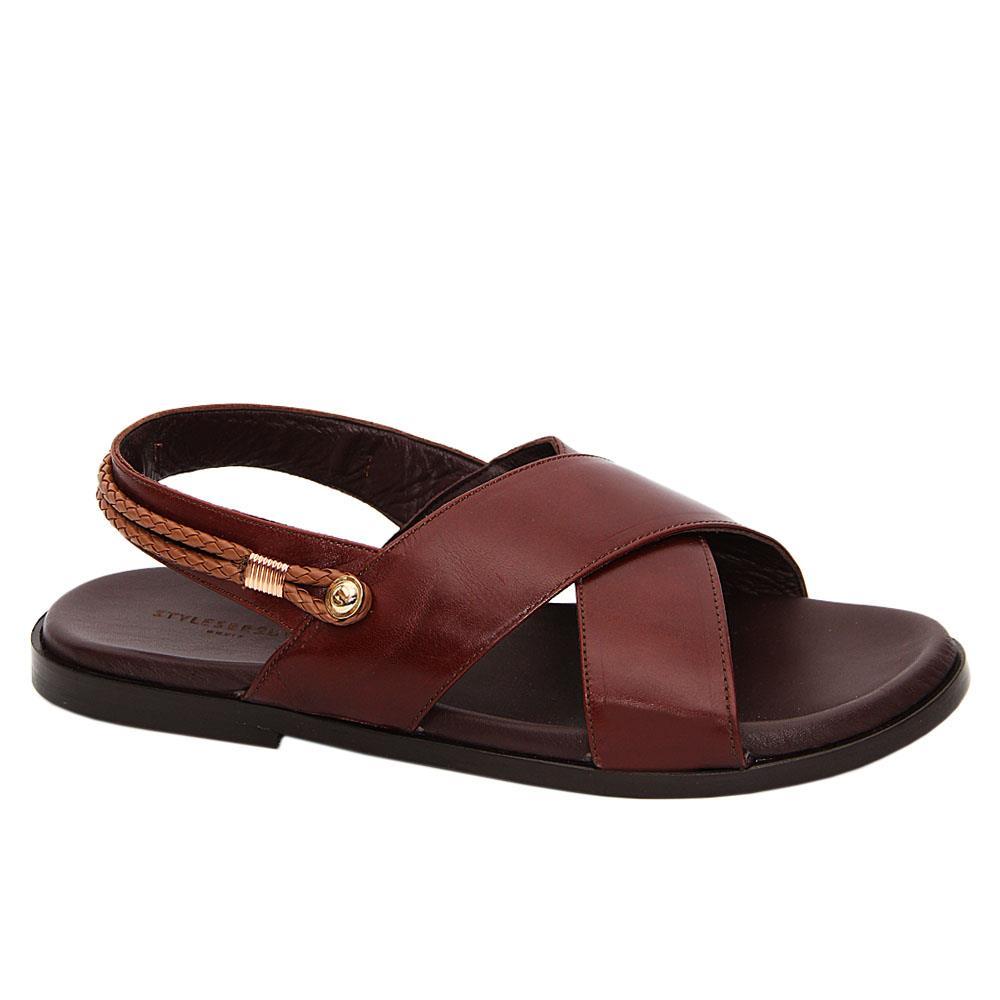 Brown Pablo Thiago Italian Leather Sandals