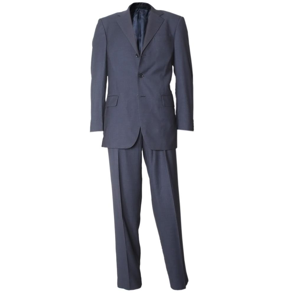 Blue Men's Suit With 3 ButtonSz 40R