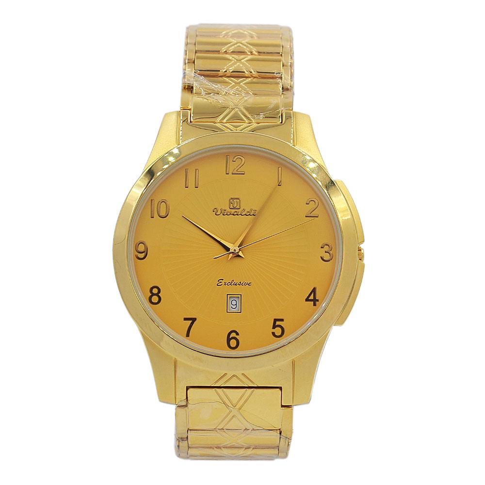 Gold Aurelio Stainless Steel Fashion Watch