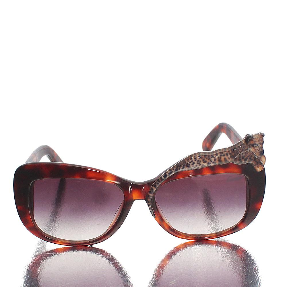 Brown Mix Oval Face Sunglasses
