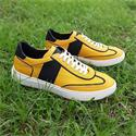 Yellow Donato Italian Sneakers