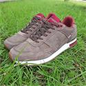 Mud Brown Wilde Eco Suede Leather Sneakers