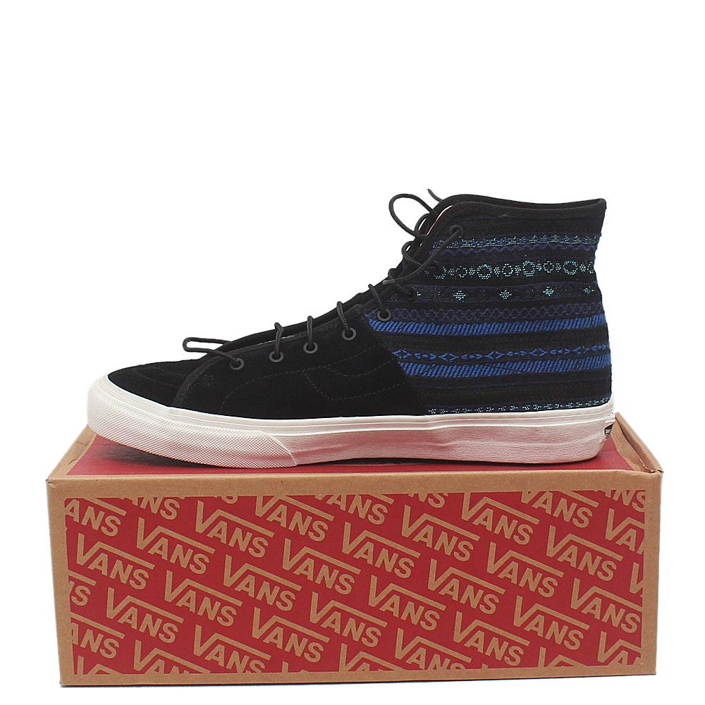 ff988728b93a Buy Vans-Off-the-wall-Black-Suede-Leather-Men-Ankle-Sneakers - The ...