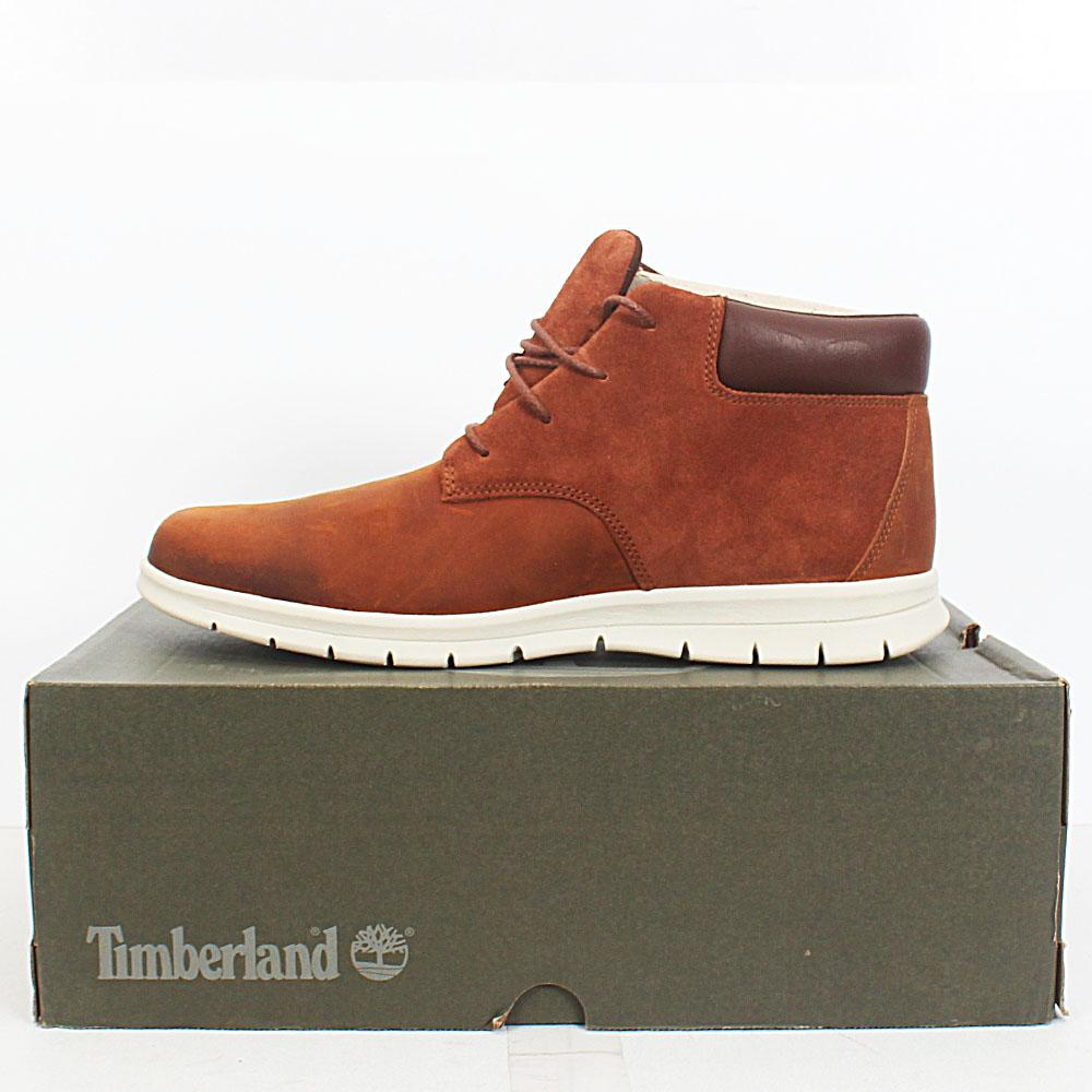 7b2f9141a92 Buy Sz-44-Timberland-Dauset-Chukka-Brown-Leather-Men-Ankle-Sneakers ...