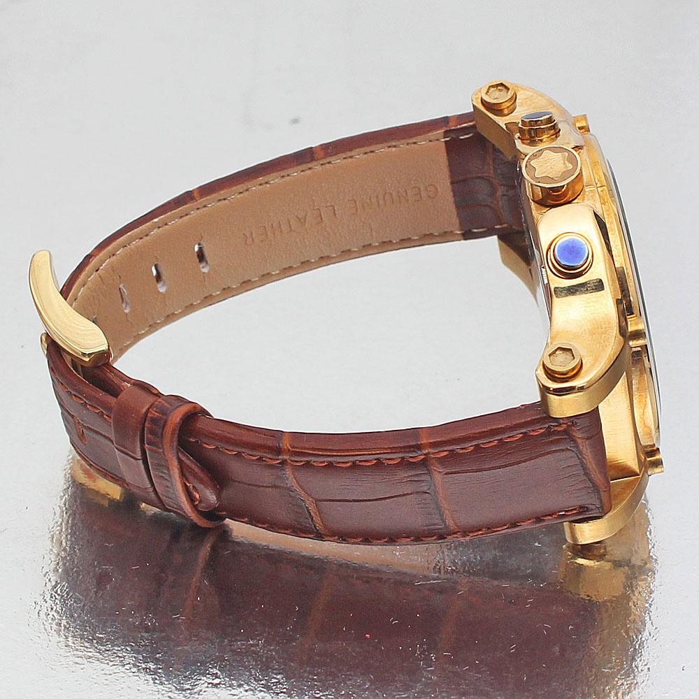 e41c1ae8b5563 Buy Mont-Blanc-1968-Brown-Leather-Gold-Mens-Watch - The Bag Shop Nigeria