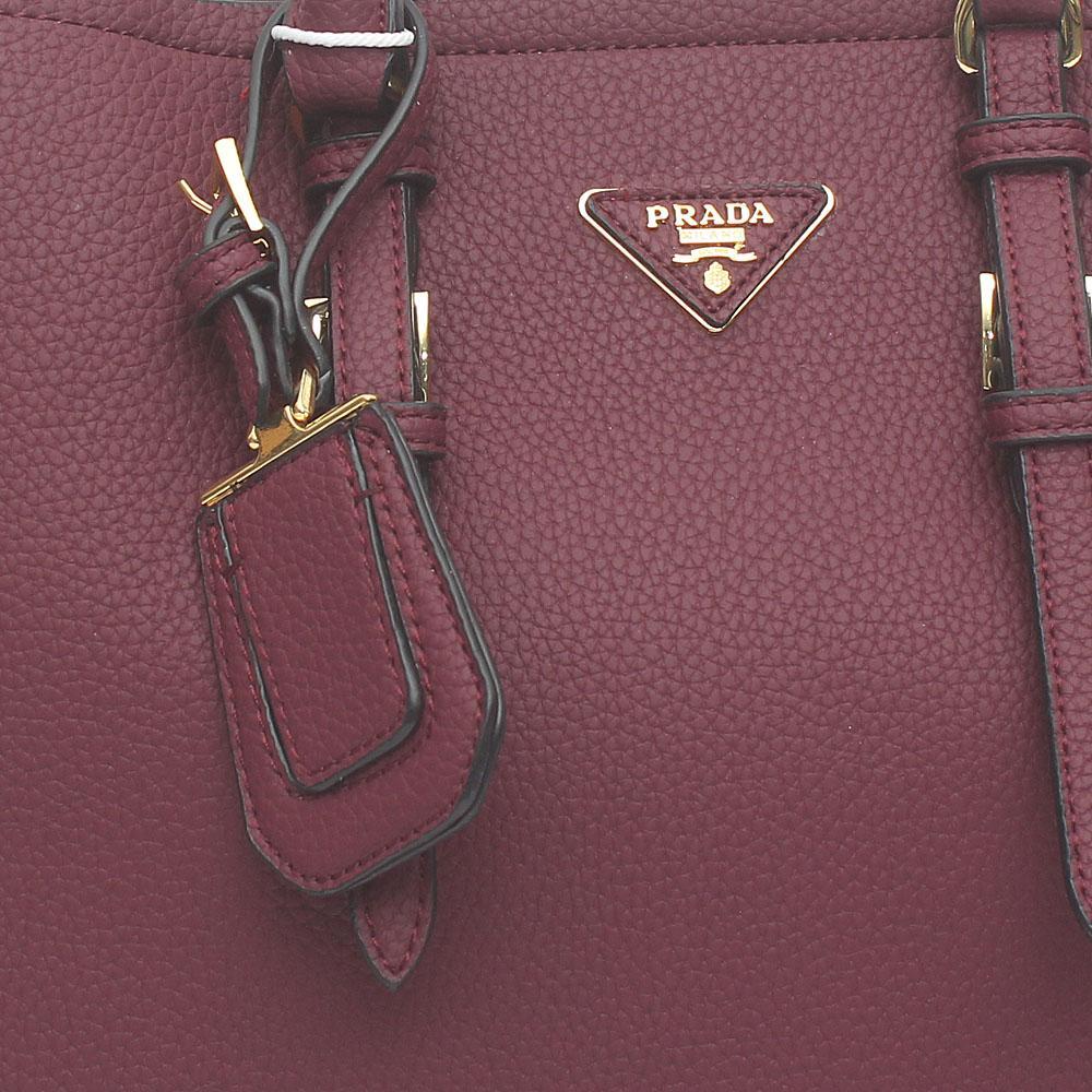 e144313af2 Buy Prada-Mauve-Leather-Double-Bag - The Bag Shop Nigeria