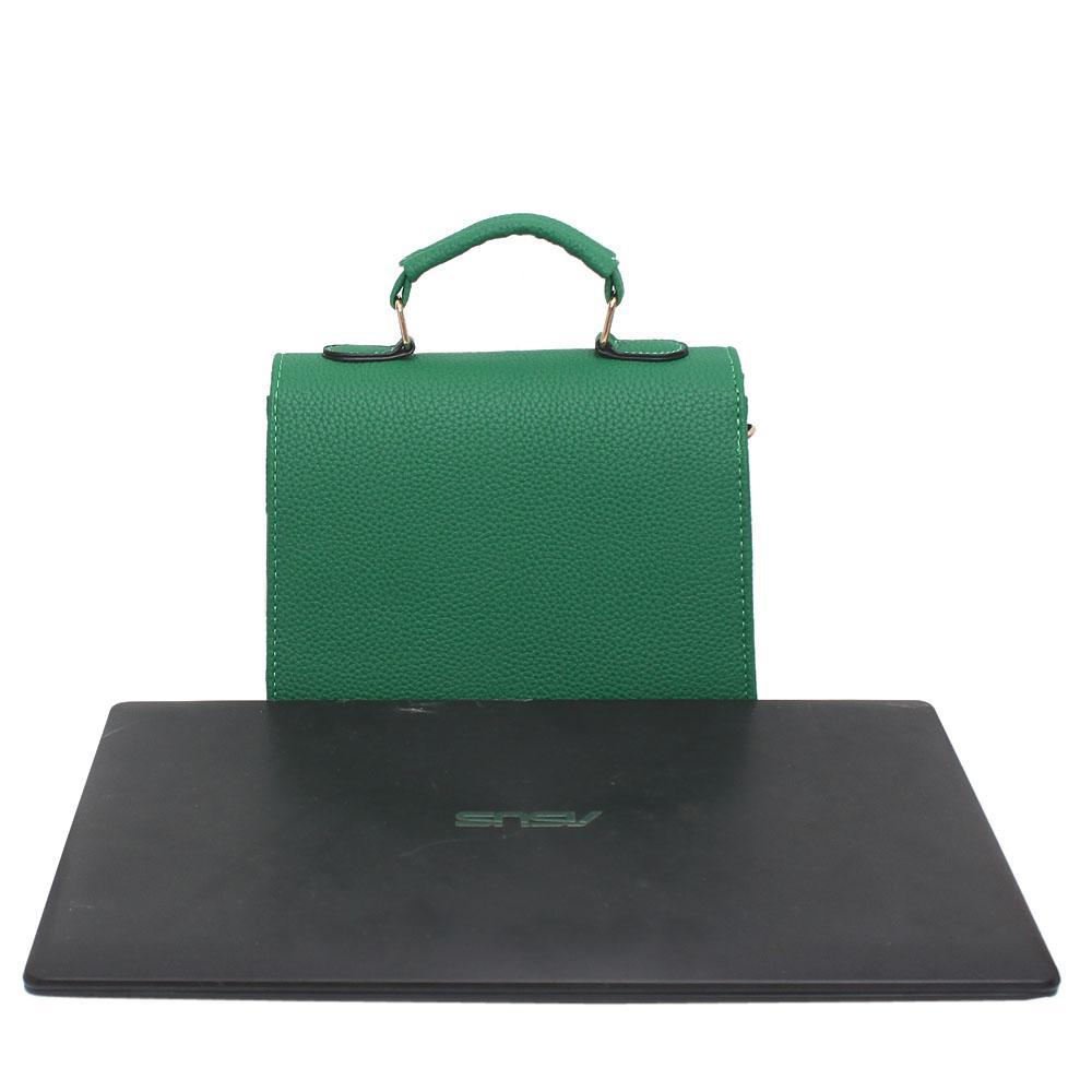 2fb7773ad4 Buy VL-Green-Leather-Handle-Bag - The Bag Shop Nigeria
