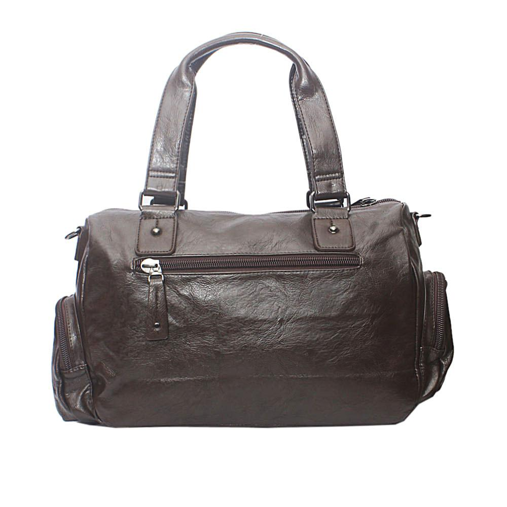 df663ab4dcd0 Buy Casania-Coffee-Covered-Zip-Overnight-Travel-Bag - The Bag Shop ...