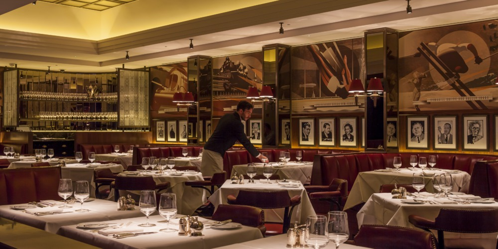 The colony grill room mayfair restaurant the beaumont for American cuisine london