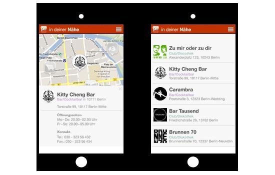 partyneighbor ist verfügbar auf dem iPHone und unter Andoid