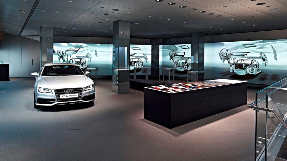 Audi Digital Showrooms