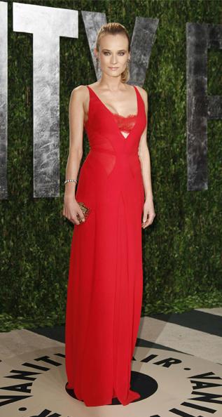 Os Melhores Vestidos das Festas Pós-Óscares 2012