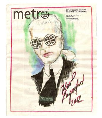 Karl Lagerfeld   Metro