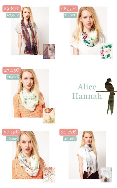 Alice Hannah Scarfs