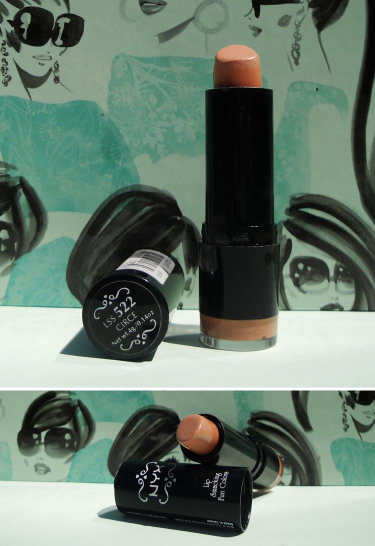 NYX Round Lipstick | Circe