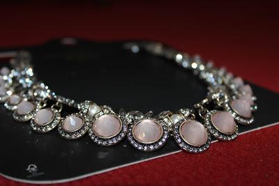 New in |  Pink Stone Necklace Zara