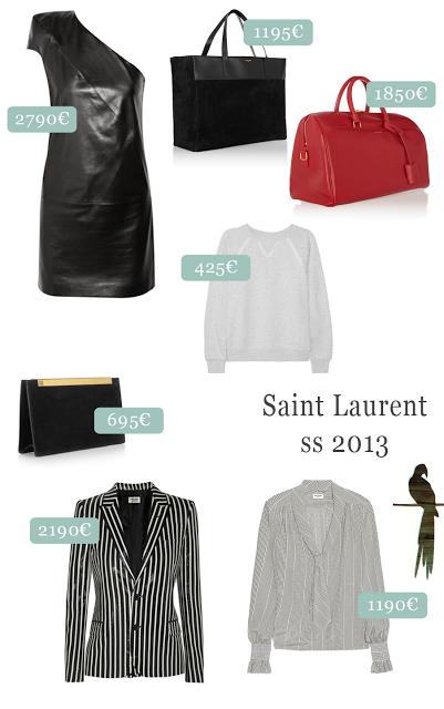 Sem Yves, mas com muito Saint Laurent