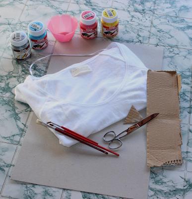 DIY | Azteca Shirt Print