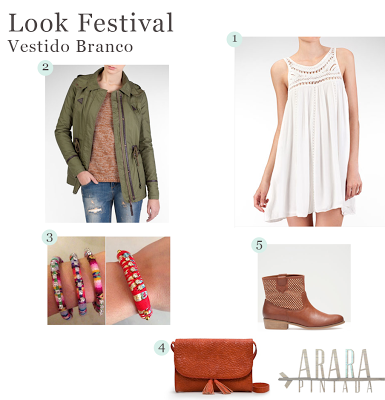 Look Festival | Vestido Branco