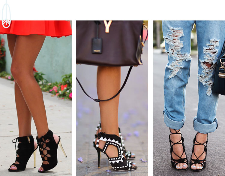 Shoes Crush | Lace Up Sandals
